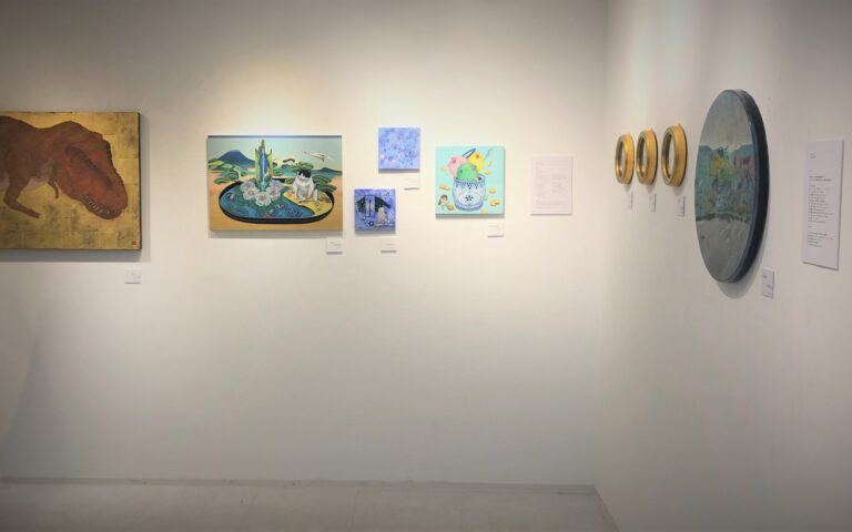 – Exhibition News –   at a group exhibition in Gallery ART POINT