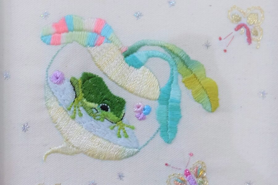 Dream of a Flying Frog