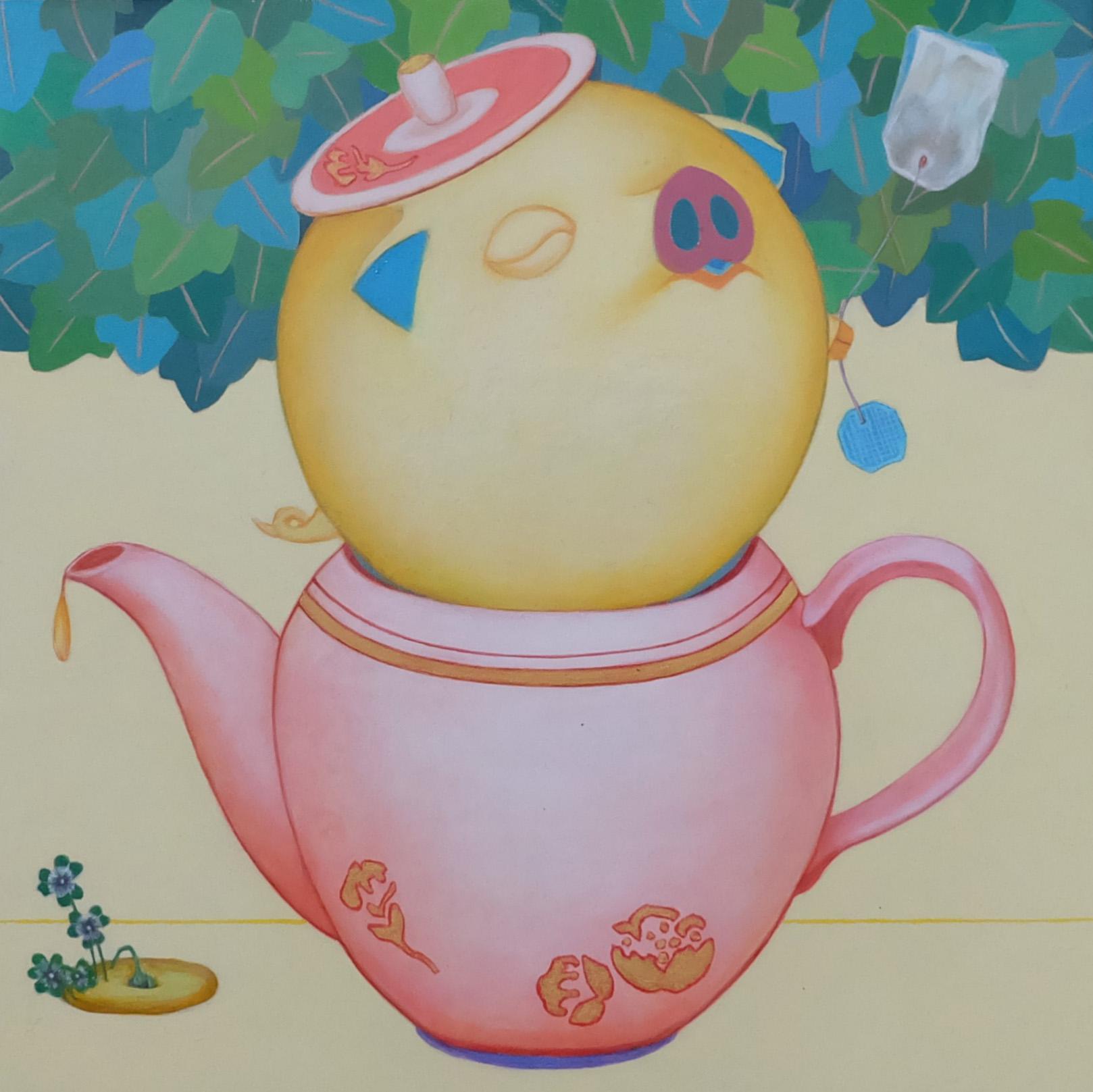 Happy Pig (Tea Pot)