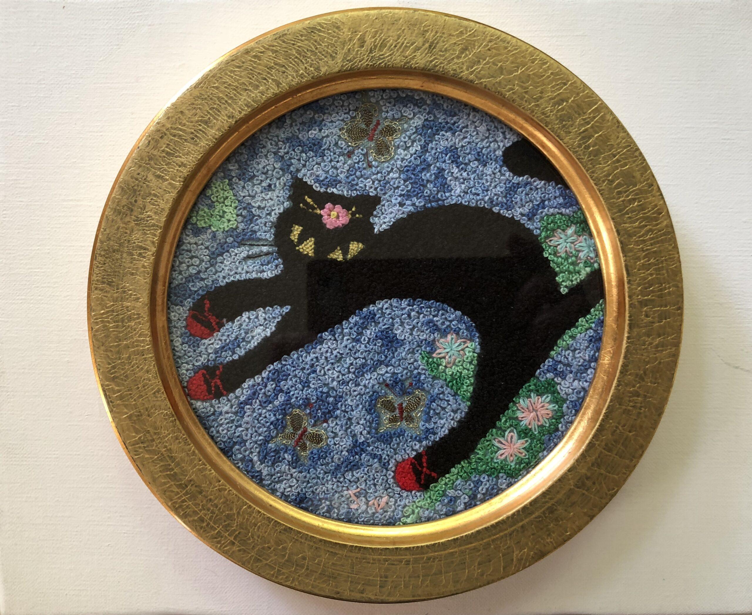 黒猫のお出かけ